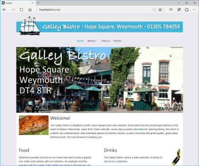galley bistro desktop